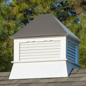 Select Series Rectangle Vinyl Cupola By YardCraft