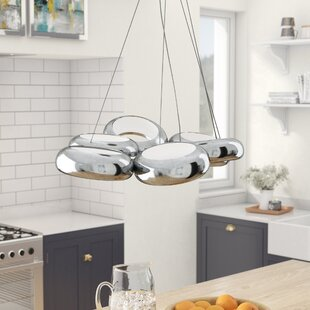 Franklin 6-Light Cluster Pendant by Wade Logan