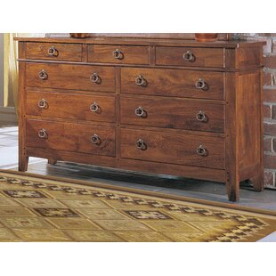 Klaussner Furniture Baxter 9 Drawer Standard Dresser Image