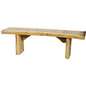 Wood Bench by Ibolili