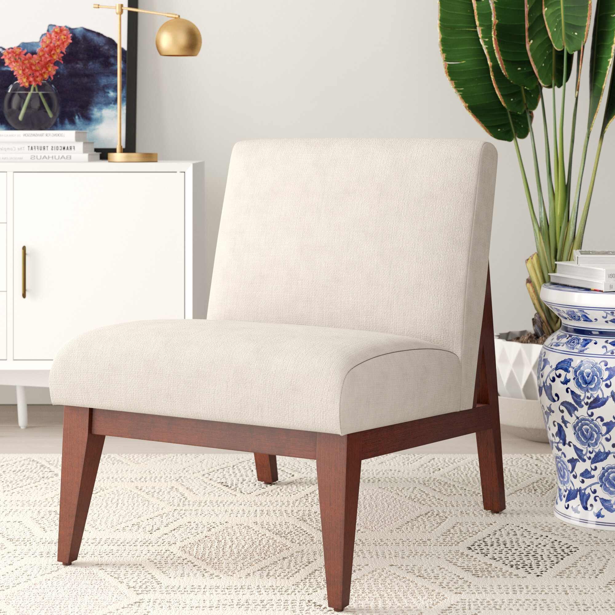 Picture of: Alaine Slipper Chair Reviews