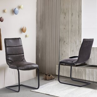 Clarette Upholstered Dining Chair (Set of 2) by Mistana