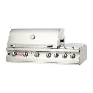 Burner Premium 7-Burner Built-In Propane Gas Grill with Side Burner