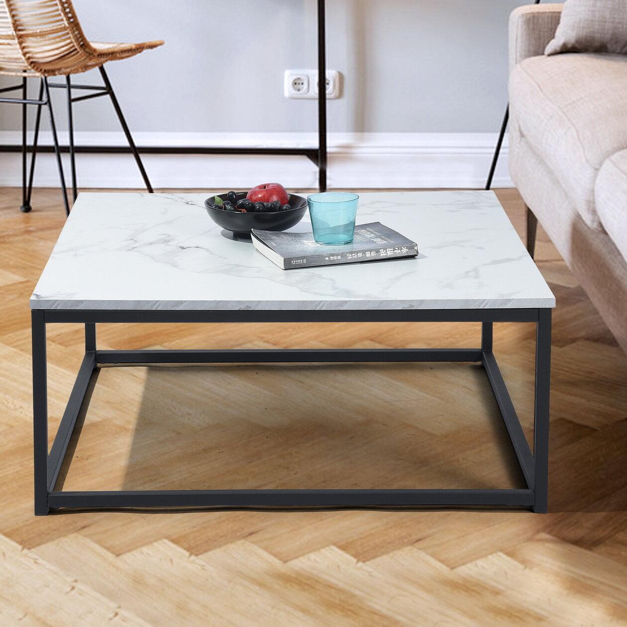 Williston Forge Katharyn Frame Coffee Table Reviews Wayfair