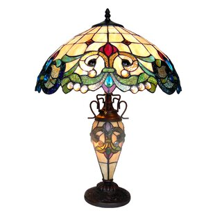 Hazelden Victorian Double Lit 18 Table Lamp