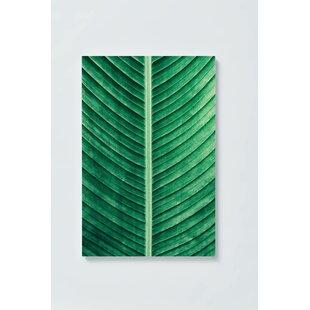 Leaf Motif Magnetic Wall Mounted Cork Board By Ebern Designs