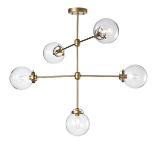 Nieves 5-Light Sputnik Chandelier