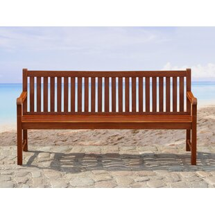Neala Acacia Garden Bench by Home Etc