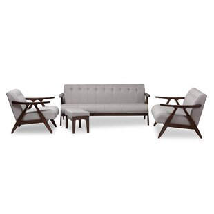 Compare Enrico 4 Piece Living Room Set by Wholesale Interiors Reviews (2019) & Buyer's Guide