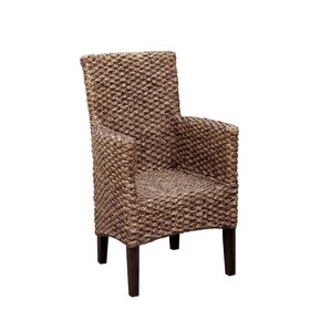 Tamayo Seagrass Dining Chair (Set of 2) by Bayou Breeze