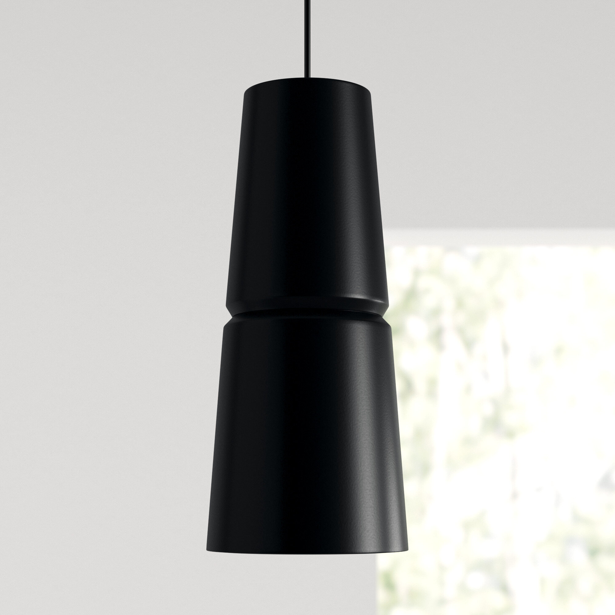 Perth 1 Light Single Cone Pendant Allmodern