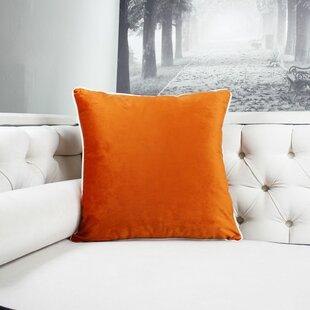 Norris Plush Velvet Throw Pillow