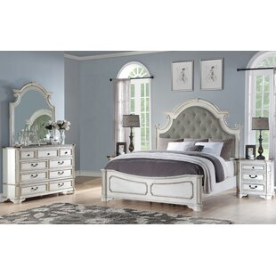 Meghan Panel 5 Piece Bedroom Set