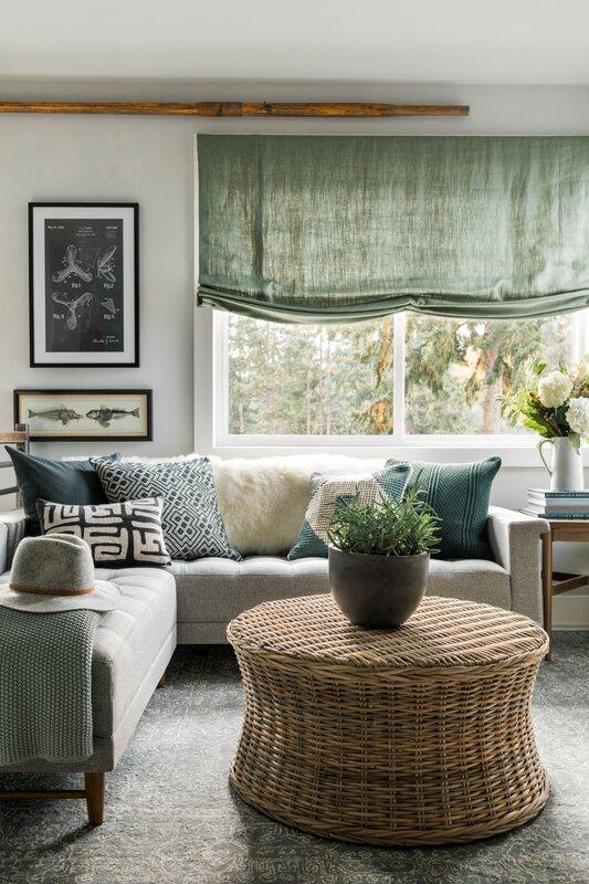 Dream Living Room Designs: Coastal Living Room Design Photo By HGTV Dream Home 2018