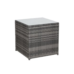 Montes Rattan Side Table By Bay Isle Home