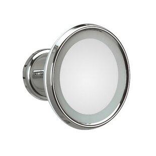 WS Bath Collections Mirror Pure Lucciolo Magnifying Cosmetic Wall Mirror
