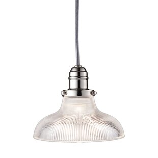 Darby Home Co Birchover 1-Light Inverted Pendant