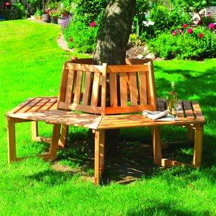 Review Wooden Tree Seat