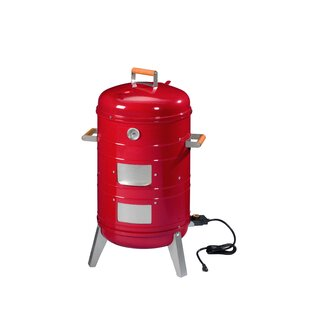 Americana 4-in-1 Electric/Charcoal Smoker By MECO Corporation