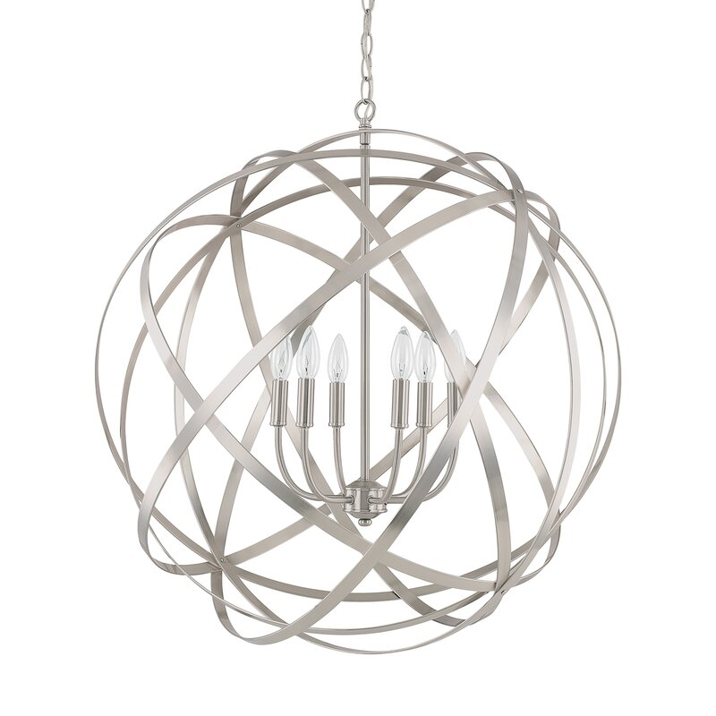 Everly Quinn Adcock 6 Light Pendant Reviews