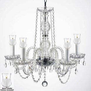 House of Hampton Kettner 5-Light Candle S..
