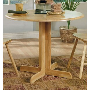 Haydenville Hatch Solid Wood Dining Table by Three Posts