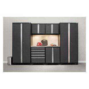 Pro 3.0 Series 7 Piece Storage Cabinet Set by NewAge Products
