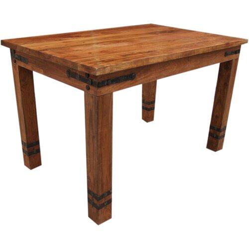 Esstisch Union Rustic Größe: 78 cm H x 180 cm L x 90 cm B  Farbe: Holz hell  Metallbeschläge: Ohne   Küche und Esszimmer > Esstische und Küchentische   Union Rustic