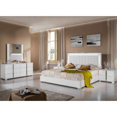 Mcnary Modern White Bedroom Set Mercer41