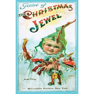 'Game of the Chrostmas Jewel' Vintage Advertisement