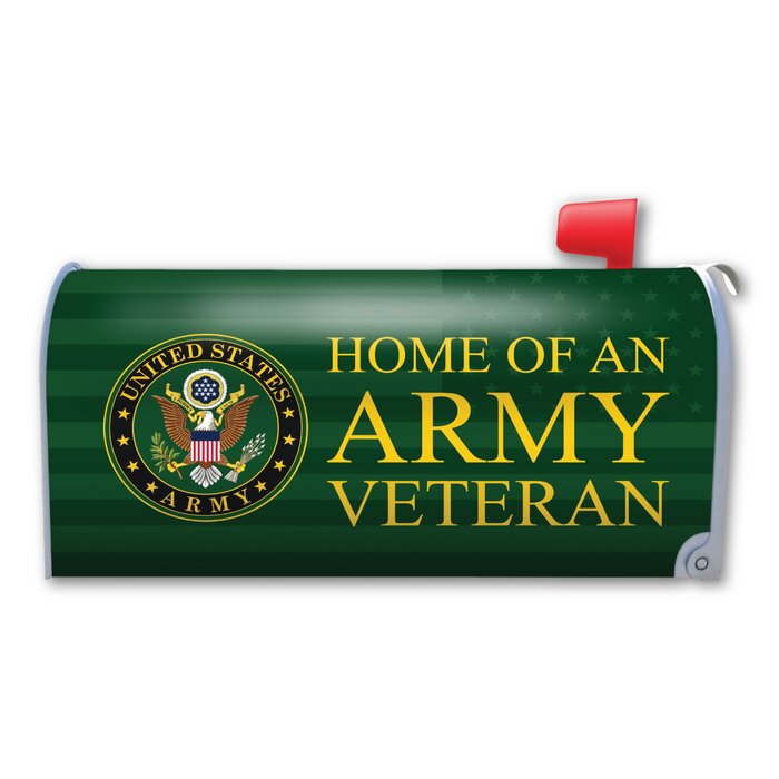 Home of an Army Veteran Magnetic Mailbox Cover
