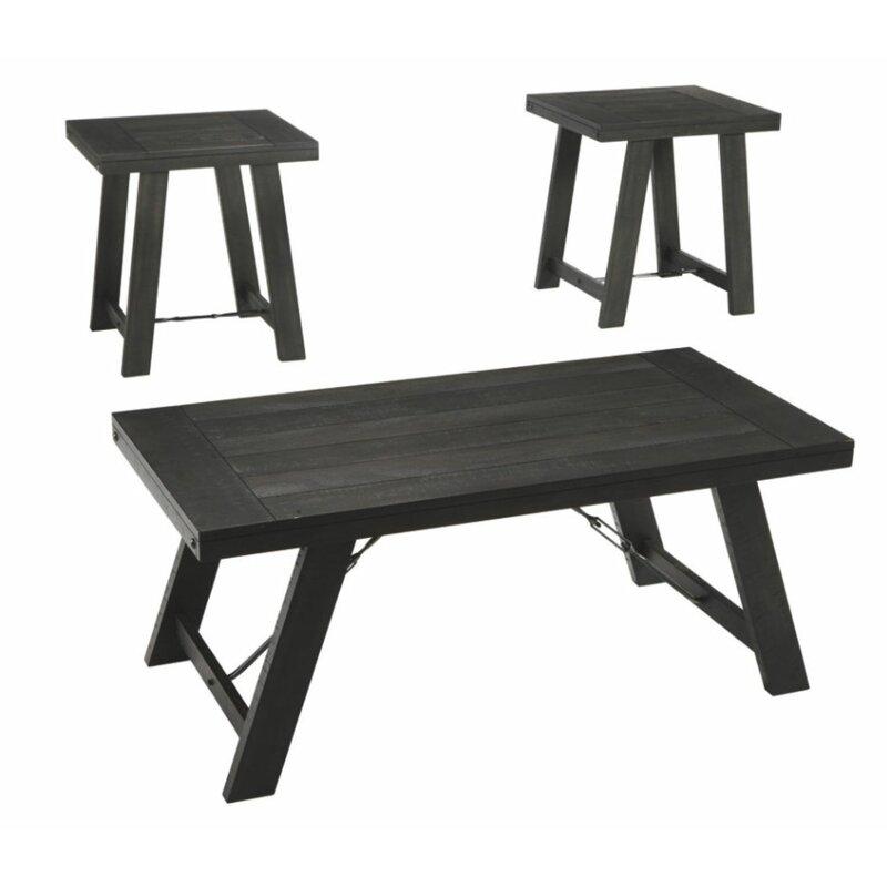 Red Barrel Studio Elise 3 Piece Coffee Table Set Wayfair
