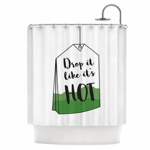 Drop It Single Shower Curtain