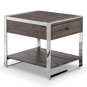 Orren Ellis Cratylus Modern Rectangular End Table Image