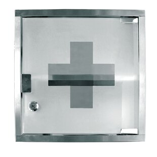 12 x 12 Stainless Steel First Aid Cabinet by Update International