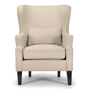 Price Check Ayres Wingback Chair by Charlton Home Reviews (2019) & Buyer's Guide