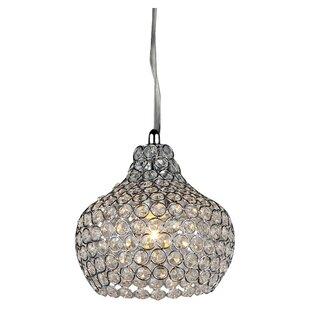 House of Hampton Neligh 1-Light Crystal Pendant