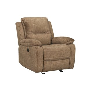 Kerber Faux Leather Power Glider Recliner