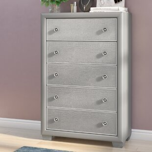 Brinkworth 5 Drawer Lingerie Chest by Willa Arlo Interiors