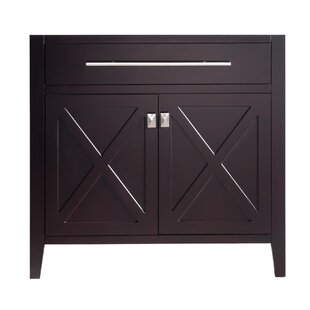 Wimbledon 36 Single Bathroom Vanity Base Only By Laviva