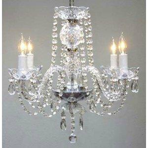Astoria Grand Linkwood 4-Light Candle Style Chandelier