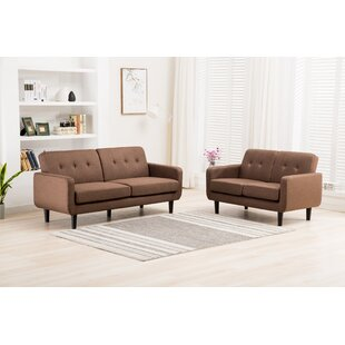 Best Choices Busch 2 Piece Living Room Set by Ebern Designs Reviews (2019) & Buyer's Guide