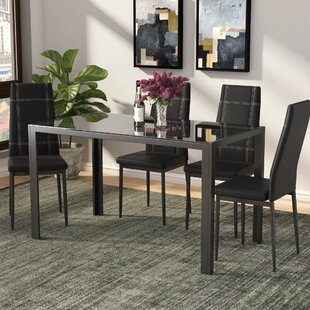 Maynard 5 Piece Dining Set Ebern Designs