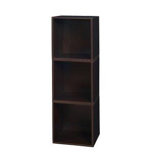 Castillo Cube Unit Bookcase (Set of 3) by Rebrilliant
