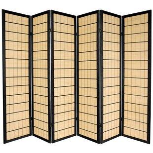 Aria Shoji 6 Panel Room Divider