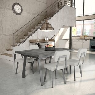 Atlas 5 Piece Extendable Dining Set 17 Stories