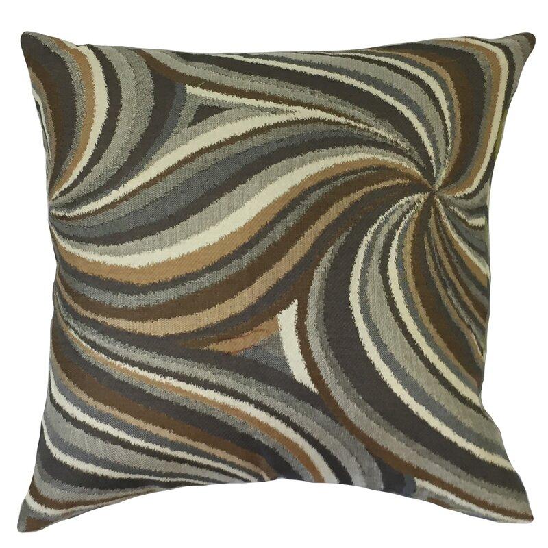Orren Ellis Kittel Graphic Down Filled Velvet Throw Pillow & Reviews ...