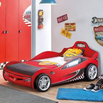 Zoomie Kids Baehr Twin Car Bed Wayfair