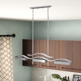 Orren Ellis Elnath 3-Light Kitchen Island Pendant