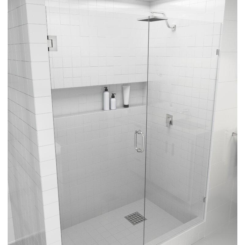 Hinged Frameless Shower Door